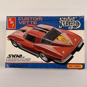 AMT 1/43 PK-2101 Matchbox Street Magic Corvette vintage kit open box kit sealed