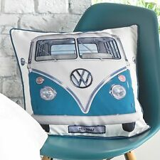 VW Volkswagen on Tour Duvet Quilt Cover Set Bedding Official Licensed T1 Cushion (45cm X 45cm)