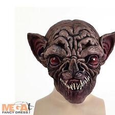 Bat Mask Halloween Fancy Dress Adults Animal Horror Unisex Mens Costume Mask