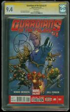 CGC 9.4 SS Guardians of the Galaxy #1 signed Brian Michael Bendis Marvel Graded