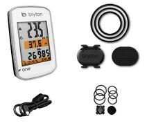 Bryton Ciclocomputer GPS Rider One Bianco con Sensore di Cadenza Bronec Ciclocom