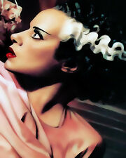 Elsa Lanchester The Bride Of Frankenstein #5 Pop Art Canvas 16 x 20 #2625