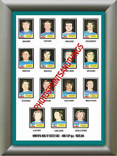YUGOSLAVIA - WORLD CUP 74 - REPRO STICKERS A3 POSTER PRINT