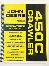 OPERATORS MANUAL FOR JOHN DEERE 450C CRAWLER DOZER OWNERS MANUAL MAINTENANCE
