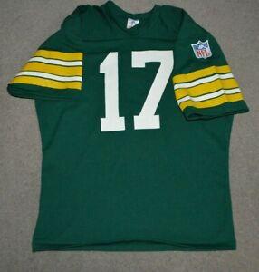 Vtg David Whitehurst Green Bay Packers Rawlings NFL Football Jersey Large 42-44