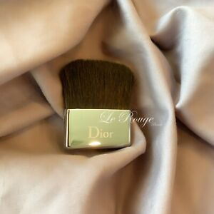 Christian Dior mini powder blush brush double sided  (nude skin versatile brush)