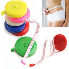 "Retractable Body Measuring Ruler Sewing Cloth Tailor Tape Measure Tool 60"" 1.5M"