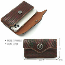 Montana West Leather Holster Horizontal Belt Carry Pouch Case for iPhone US