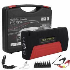 Auto KFZ Starthie Jump Starter Batterie Lagerät Power Bank Rot 68800mAh