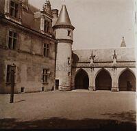 Château d'Amboise Photo R2 Stereo Verre Positive Vintage 1907