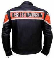 Harley Davidson Biker Leather Jacket - New Year Special Jacket