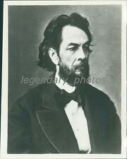 1859 George H Bissell Rock Oil Company Original News Service Photo