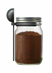 Jarware 82652 Coffee Spoon Clip for Wide Mouth Mason Jars, 6""