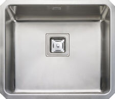 Rangemaster Atlantic Quad 1.0 Single bowl Stainless Steel Undermount Sink QUB48