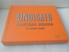 SINDICATO MASTERS SERIES WOOD CIGAR BOX by ROCKY PATEL - TORO - guitar - crafts