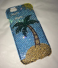 Crystal Palm Tree  Bling Case For IPHONE 7 5.5 PLUS Made With 100% Swarovski