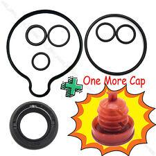 Power Steering Pump 8 Piece Seal Kit + Reservoir Cap For Honda Accord Odyssey