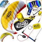 HQ Hydra II 300 3M Water Trainer Kite Kiteboarding Foil + 2nd Control Bar Kite