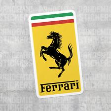 Ferrari Vinyl Decal Sticker Laptop Bottle Racing Auto Car Window