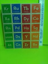 *(NEW)*UNCLE GOOSE ELEMENTAL BLOCKS* of the Periodic Table, Handcrafted Wooden