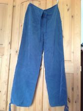 blue ladies trousers by Topshop