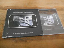 CD chanson Georges Brassens-The Ultimate CD (30) canzone Recording Arts JC + CB