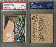 1940 GUM INC. SUPERMAN #37 DISTRESS AT SEA PSA 6 (3596)