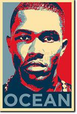 Frank Ocean Foto Impresión 2 Afiche Regalo (Inspirado en Obama Hope)