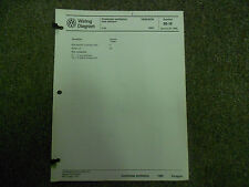 1985 VW Vanagon Crankcase Auxiliary Heater Wiring Diagram Service Manual OEM 85