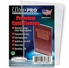 100 BUSTINE PROTETTIVE Ultra Pro Magic TRASPARENTI Platinum Premium Economiche