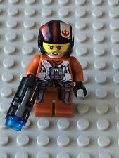Star Wars LEGO MINIFIG Minifigure sw658 POE DAMERON 75102 RARE!