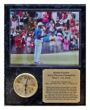 Rickie Fowler 2015 Players 8x10 Photo Plaque Clock Insert & Engraved Nameplate
