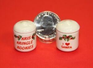 Jolly Cookie Jars!! Dollhouse Miniatures by Tim Van Schmidt