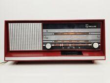 RARE VINTAGE  PHILLIPS 22RB 261/17 L EINDHOVEN TUBES VALVE RADIO - WORKING