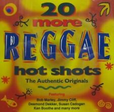 20 Reggae Hot Shots Vol.2 -  CD N8VG The Fast Free Shipping