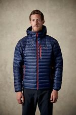 RAB Microlight Alpine Jacket Mens UK M / Euro 50 Twilight