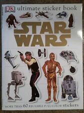 Star Wars Ultimate Sticker Book (2004, Paperback) DK More than 60 Stickers!