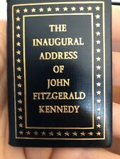1961 Original Copy of The Inaugural Address Of John Fitzgerald Kennedy