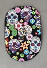 Funky Stoma bag pouch covers for Ostomy Ileostomy Colostomy Black Skulls