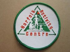 Norfolk Activity Centre Cloth Patch Badge Boy Scouts Scouting L4K C