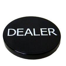 Black Dealer Button Poker Casino - Lammer
