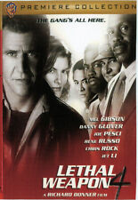 JET LI - LETHAL WEAPON 4 - 1998 DVD -PREMIERE COLLECTION