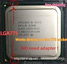 X5472 Processor 3.0ghz/12m/1600mhz Equal to Lga775 Core 2 Quad Q9650 CPU LGA 775