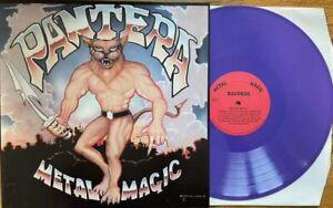 PANTERA - Metal Magic (LIM.100 PURPLE VINYL*US POWER METAL CLASSIC 1983)