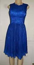 light in the box Blue lace formal dress wedding bridesmaid prom no size tag