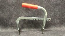 Universal Battery Lifting Tool, Red Rubber Handle, Battery Carrier, Side Lift