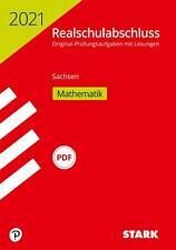 STARK Original-Prüfungen Realschulabschluss 2021 - Mathematik - Sachsen | Buch