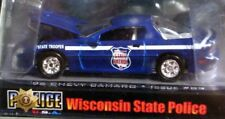 RACING CHAMPIONS 96 1996 CHEVY CAMARO WISCONSIN STATE POLICE CAR CHEVROLET BLUE