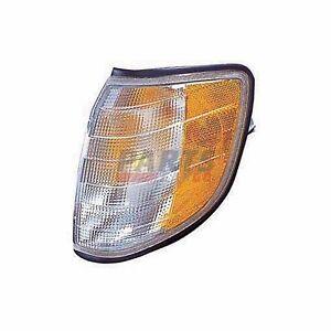 NEW PARKING SIGNAL LIGHT FRONT LEFT FITS 1995-1999 MERCEDES-BENZ S320 9622315