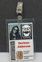 Mr. Robot ID Badge - Fsociety Darlene Anderson costume prop cosplay